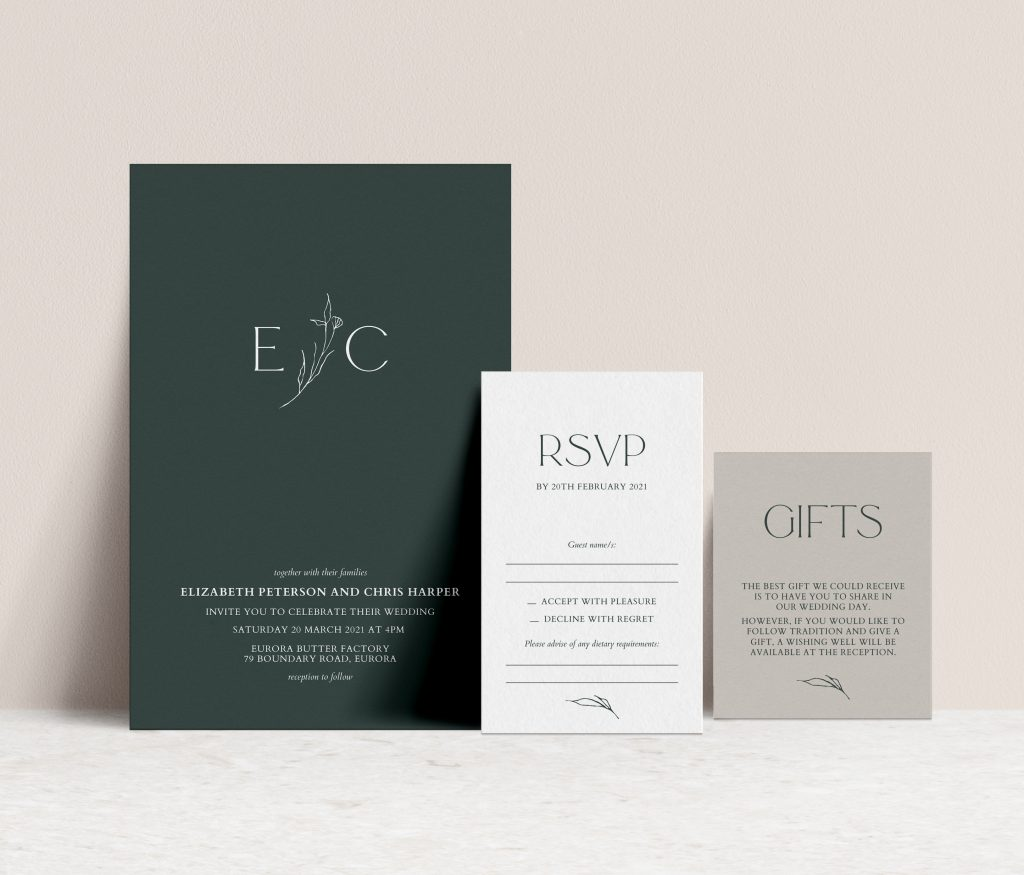 Wedding Invitations Melbourne