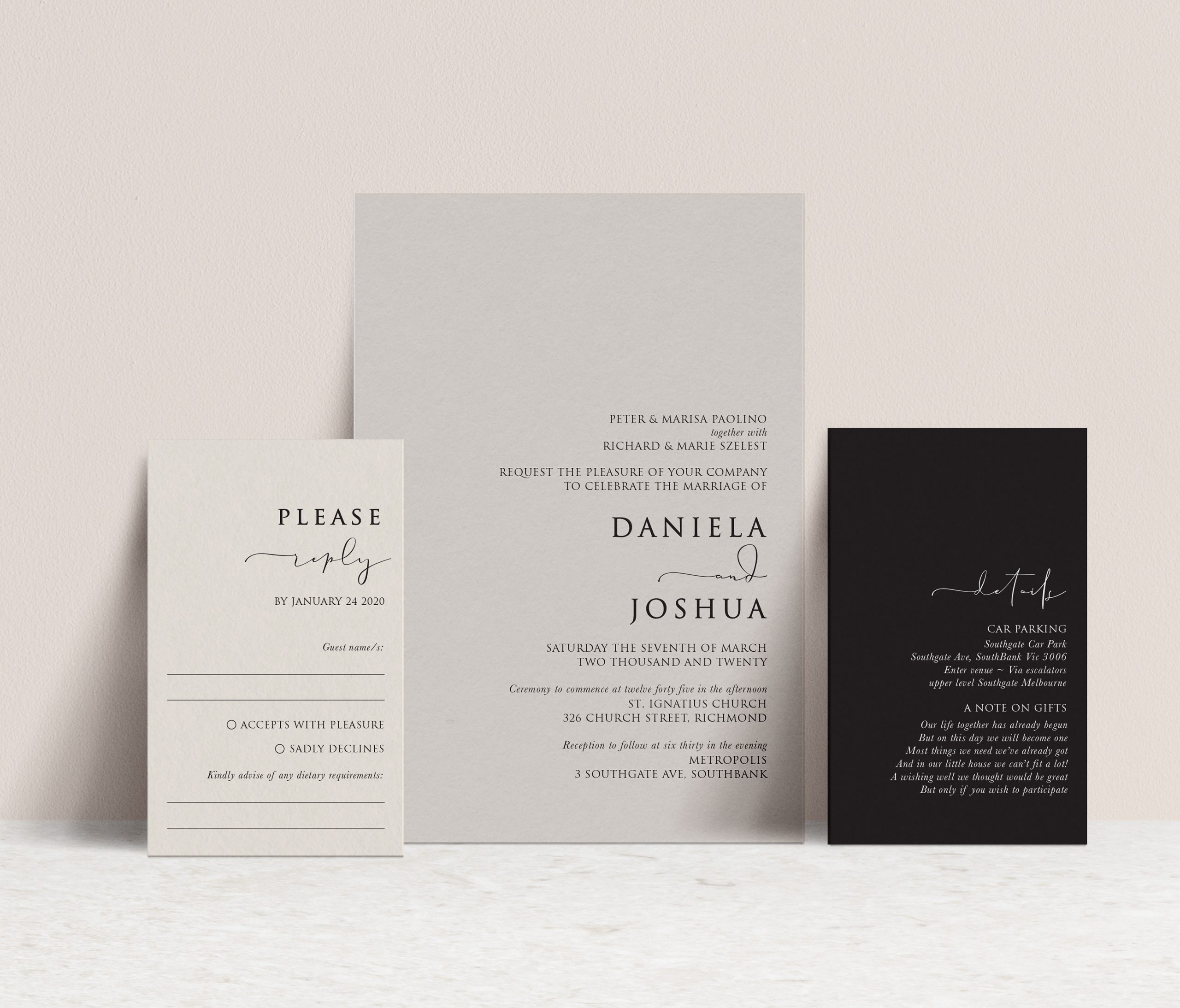 wedding stationery Australia