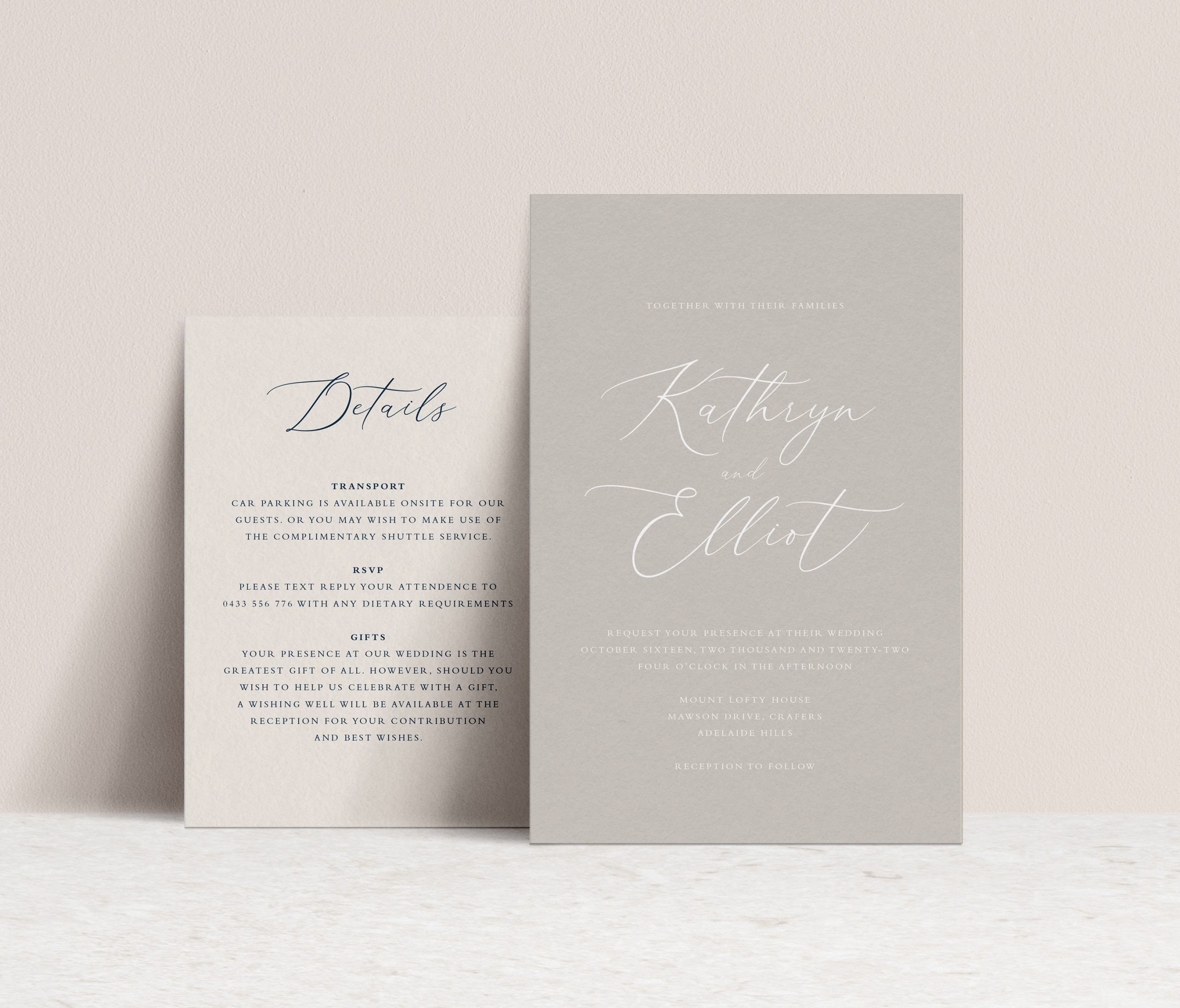 Wedding Invitations Melbourne