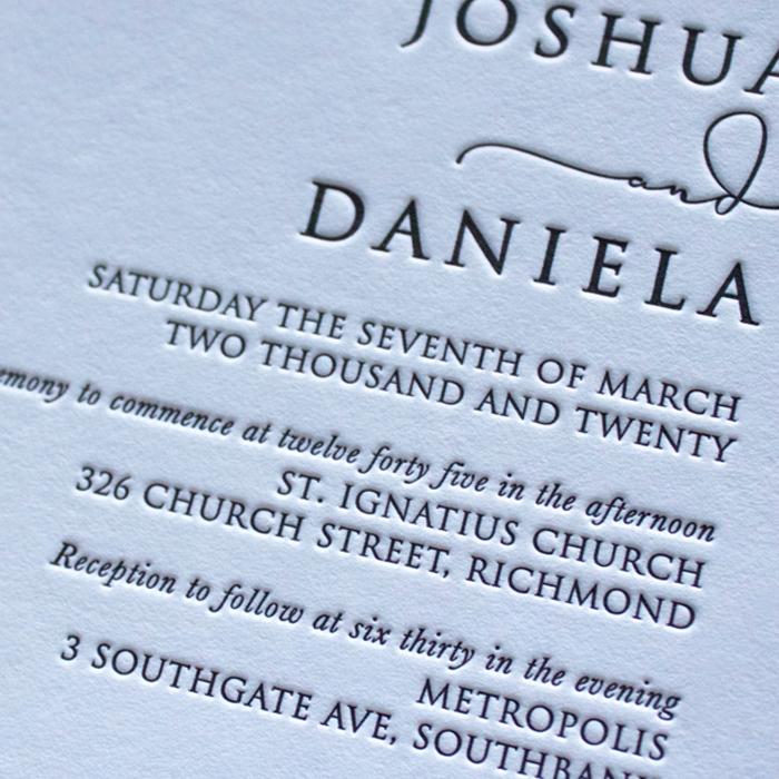 Letterpress Printing Melbourne
