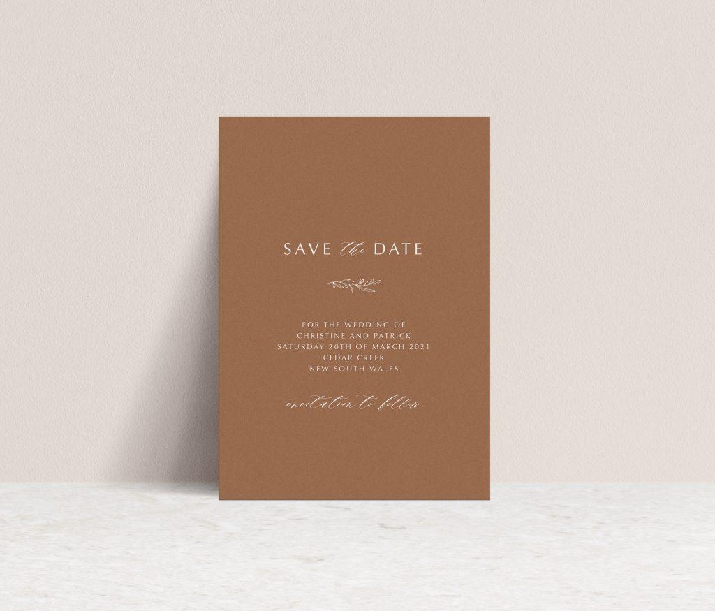 Save the Dates Brisbane