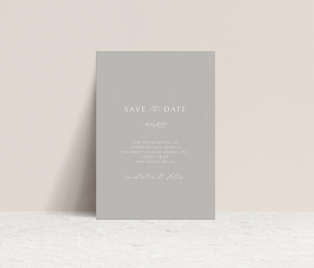 Save the Dates Printing