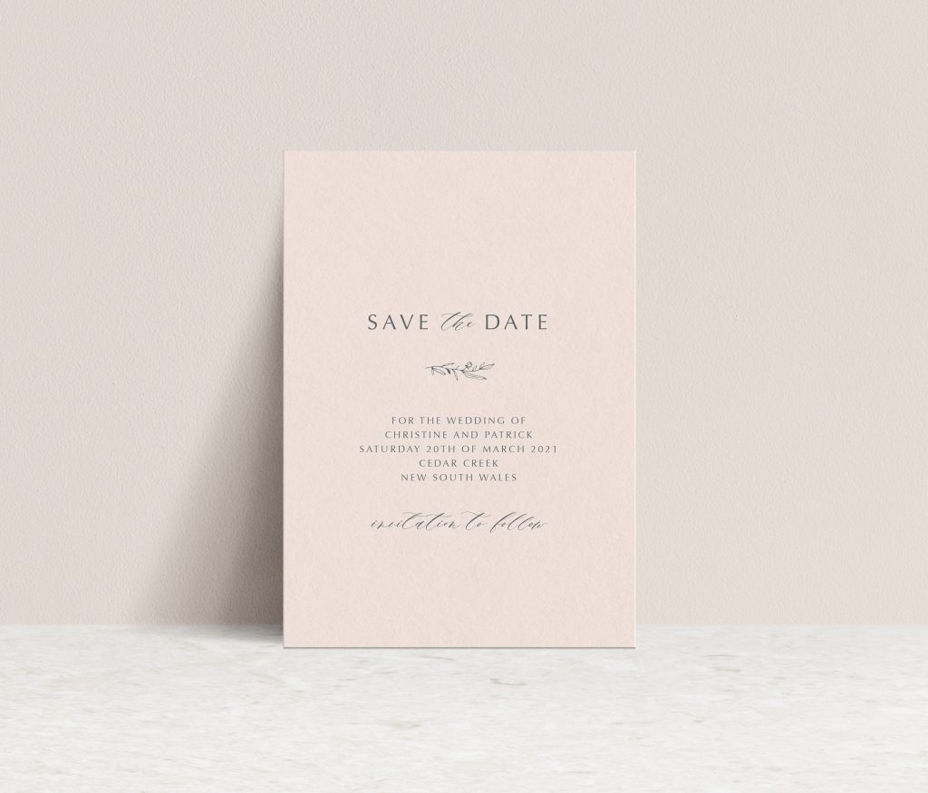 Save the Dates Australia