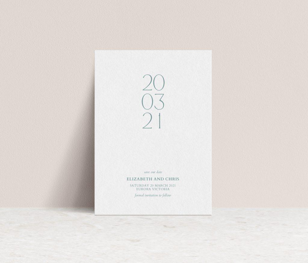 Save the Dates Australia wedding invitations