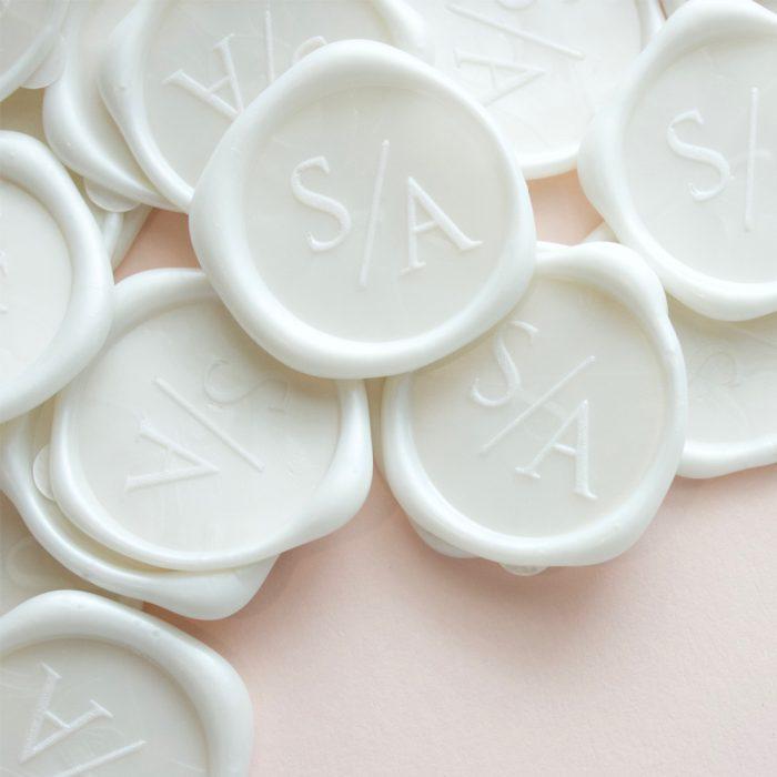 self adhesive wax seals australia